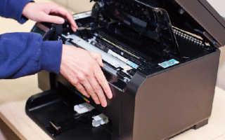 Принтер пишет нет тонера, а картридж заправлен. Решение