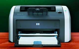HP laserjet 1010/1012/1015 описание, отзывы, проблемы, инструкции