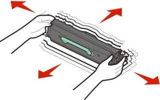 Принтер пишет замените картридж и тонер после заправки: что делать