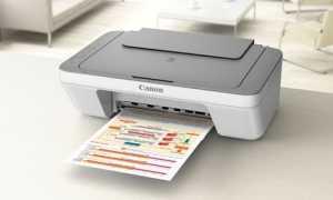 Почему принтер мигает желтым и не печатает Canon