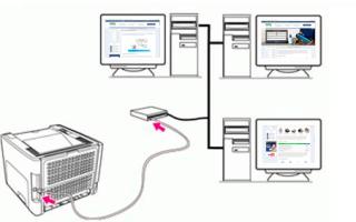 Как подключить принтер по локальной сети через компьютер и роутер
