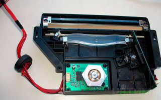 Лазер из принтера. Устройство и возможные неисправности