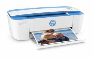 Пропала цветная печать после перезагрузки Wibdows на HP Deskjet 3630