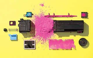 Тонер для лазерного принтера HP, Samsung, Brother, Canon