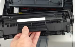 Замена картриджа в принтере: пошаговая инструкция