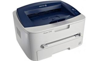 Принтер Xerox Phaser 3140 лазерный: драйвер и прошивка