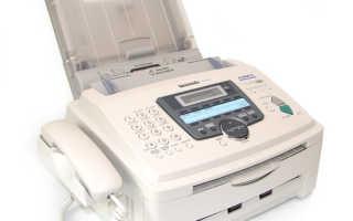 Panasonic KX-FLM653 не пропечатывает лист с краю