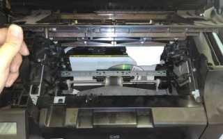 Принтер готов, но не печатает: выдает ошибку при печати