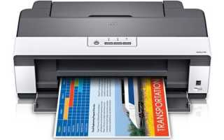 Принтер Epson l110: драйвер, памперс, головка, неисправности