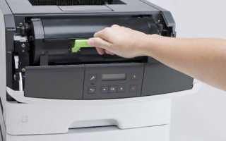 Лазерные принтеры Lexmark MS317DN, MS312DN, MS415DN