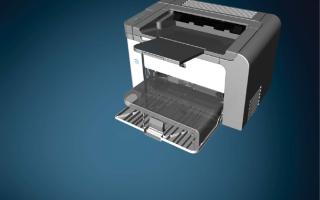 Настройка 2х сторонней печати HP LJ P-1606
