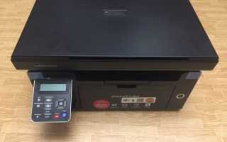 Лазерные принтеры Pantum M6500, P2207, P2500w