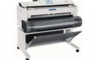Принтер формата А1 цветной лазерный для печати чертежей