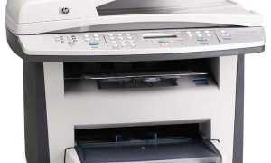 HP LaserJet 3055 описание, отзывы, проблемы, инструкции, драйверы