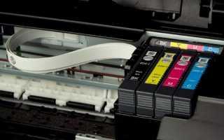 Почему не печатает принтер Epson: черная полоса и печатающая головка