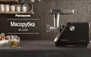 Мясорубки MK-ZJ3500 и MK-ZJ2700 от Panasonic: описание и характеристика