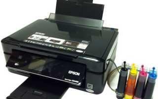 Почему принтер не печатает цветным с краской в картридже