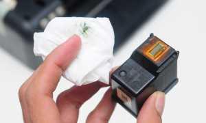 Сброс уровня чернил на принтере HP – как обнулить картридж