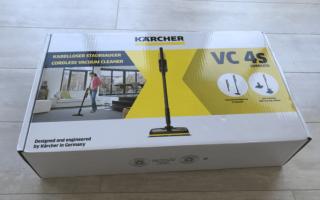 Karcher VC 4s Cordless: компактная замена традиционного пылесоса