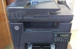 HP M127 сбой подачи в автоподатчике. Причины и решение проблемы